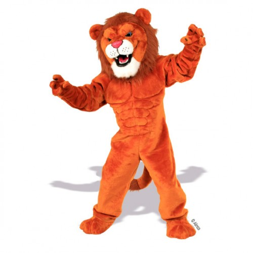 Lion and Tiger Mascot Costumes