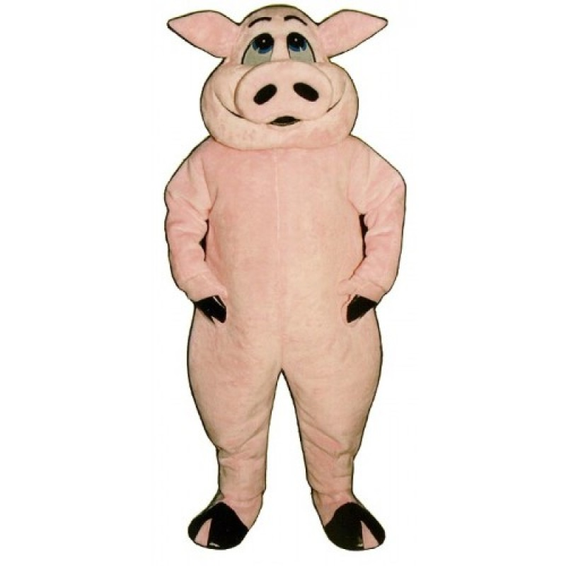 Cows and Pig Mascot Costumes