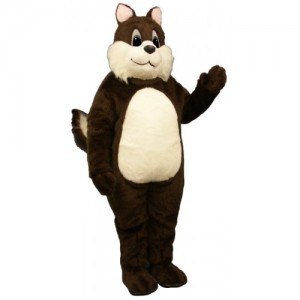 Groundhogs, Gophers and Squirrel Mascot Costumes