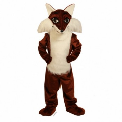 Raccoons, Fox, Wolverines and Badger Mascot Costumes