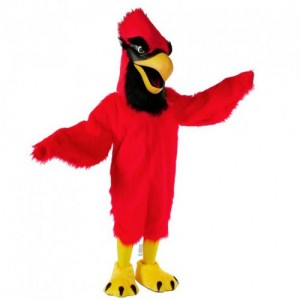 Cardinals and Blue Jay Mascot Costumes