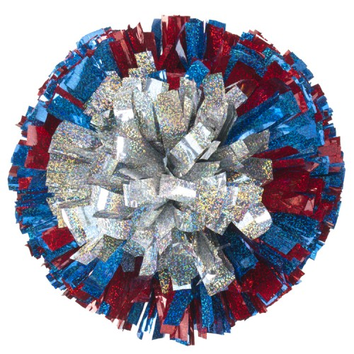 how to make cheerleading pom poms out of plastic tablecloths