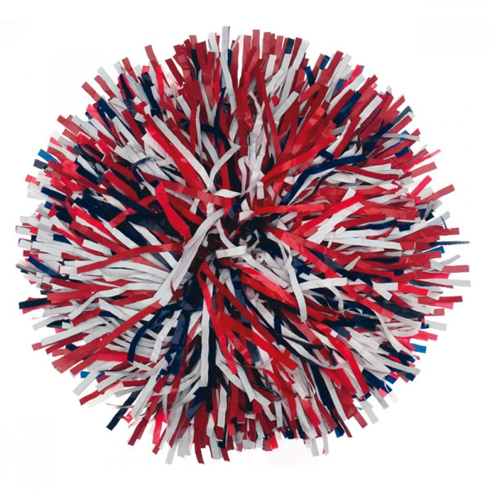 Custom Narrow Plastic or Metallic Poms