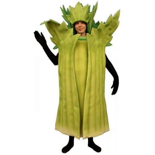 sc 1 st  Cheer Etc & Mascot costume #PFC16-Z Celery Suit (Bodysuit not included)
